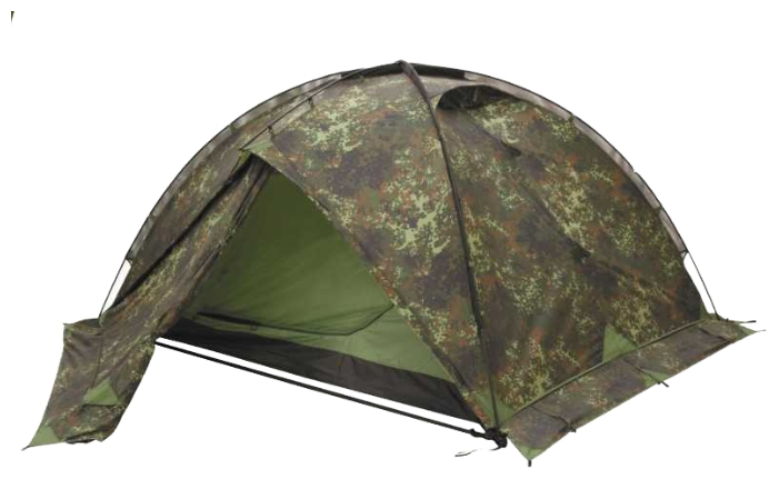 Универсальная мультисезонная армейская палатка Tengu Mark 10T камуфляж, Палатки 3-местные - арт. 281650321
