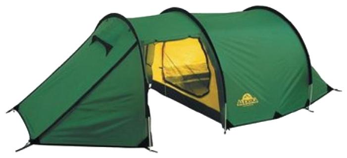 Трехместная туристическая палатка-полубочка с большим тамбуром Alexika Tunnel 3 зеленый, Палатки 3-местные - арт. 264610321