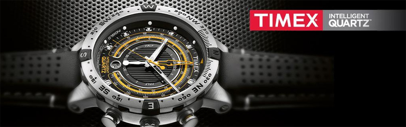 Часы Timex с механизмами Intelligent Quartz имеют дополнительные функциональные возможности и интересный дизайн