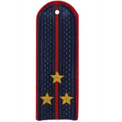 Погоны Полиции Ст. Лейтенанта с вышитыми звездочками (пара)