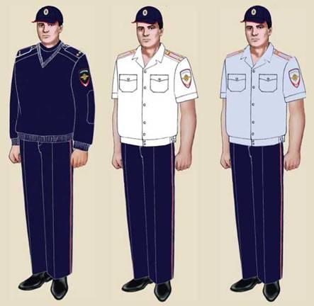 форма сотрудника полиции нового образца правила ношения фото - фото 10