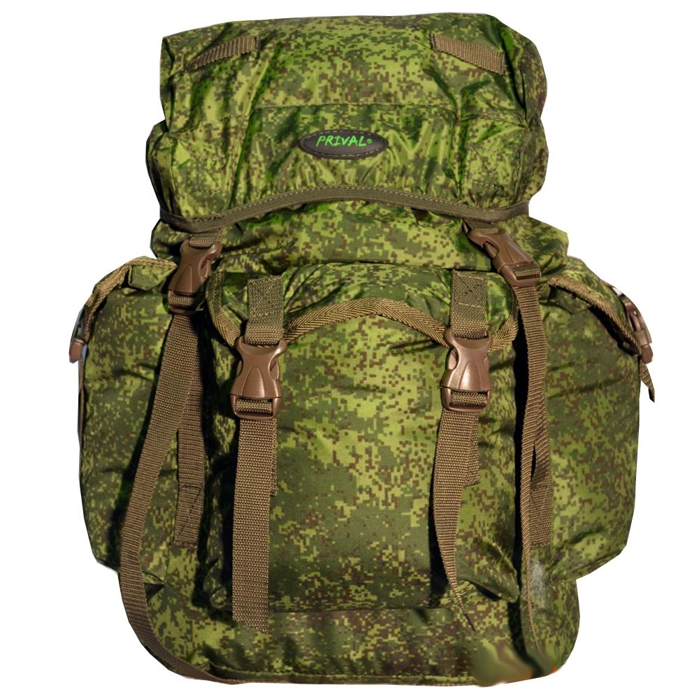 Рюкзак PRIVAL Кенгуру 45, камуфляж-цифра