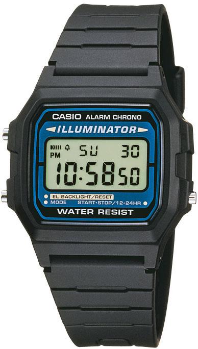 Часы наручные Casio F-105W-1A