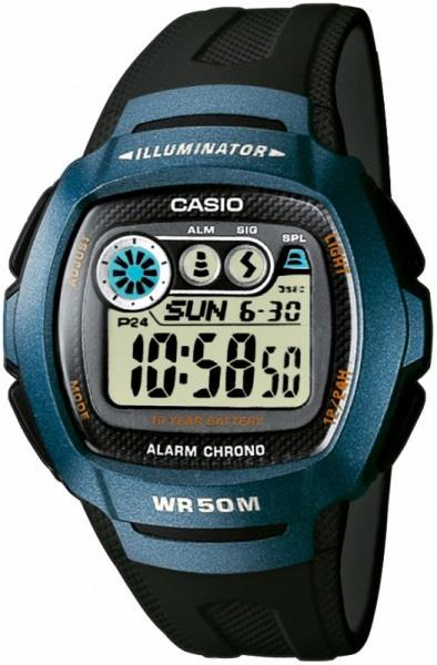 Мужские наручные часы Casio W-210-1B