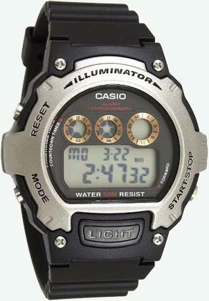 Часы Casio W-214H-1A