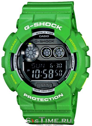 Мужские наручные часы Casio GD-120TS-3E (G-Shock)