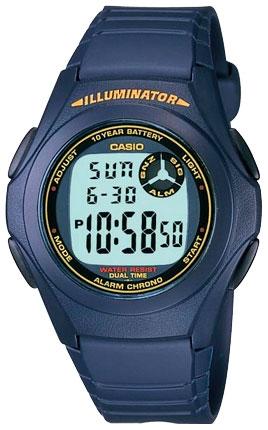 Часы Casio F-200W-2B