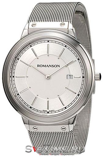 Мужские наручные часы Romanson TM 3219 MW(WH)