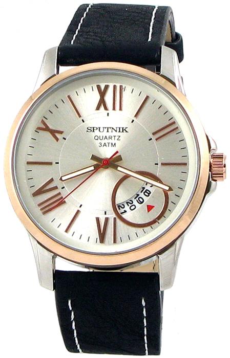 Наручные часы Спутник М-400651/6 (сталь,роз.оф.)