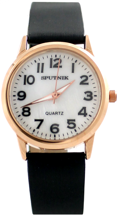 Женские наручные часы Спутник Л-200860/8 (перл.) ч.р.