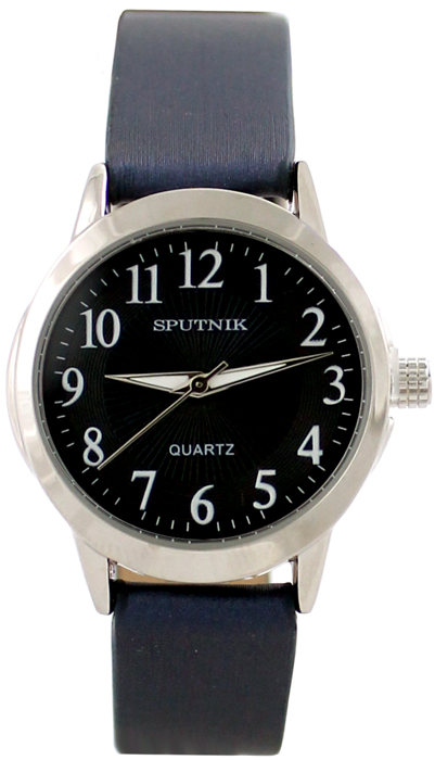 Наручные часы Спутник Л-200870/1 (син.) син.р.
