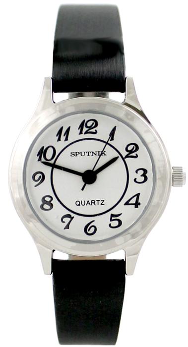 Женские наручные часы Спутник Л-200900/1 (сталь) ч.р.
