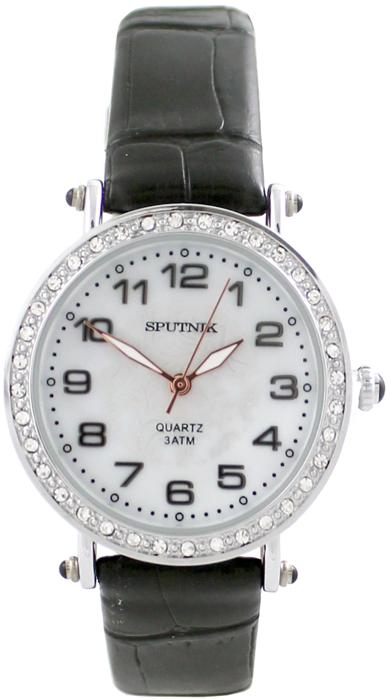 Наручные часы Спутник Л-300700/1 (перл.) ч.р.