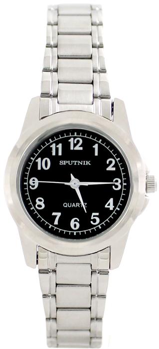 Наручные часы Спутник Л-800090/1 (черн.)