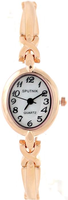 Женские наручные часы Спутник Л-882860/8 (бел.+перл.)