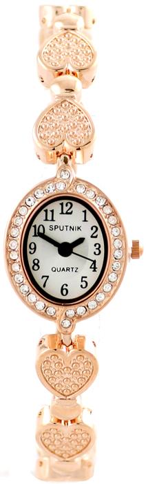 Наручные часы Спутник Л-900030/8 (бел.+сталь)