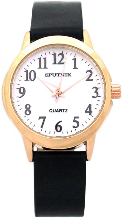 Женские наручные часы Спутник Л-200870/8 (перл.) ч.р.