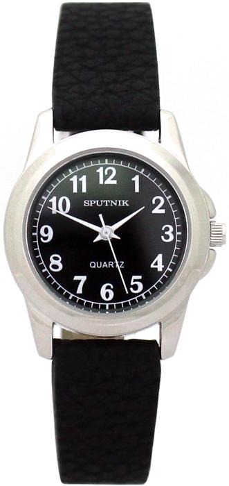 Наручные часы Спутник Л-200930/1 (черн.) ч.р.