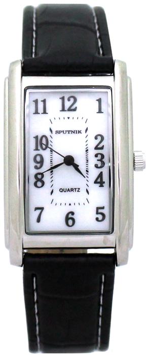 Женские наручные часы Спутник Л-200990/1 (перл.) ч.р.