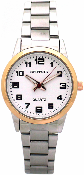 Женские наручные часы Спутник Л-800080/6 (сталь)