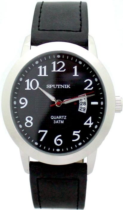 Наручные часы Спутник М-400590/1 (черн.)