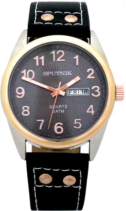 Наручные часы Спутник М-400610/6 (темн.серый)