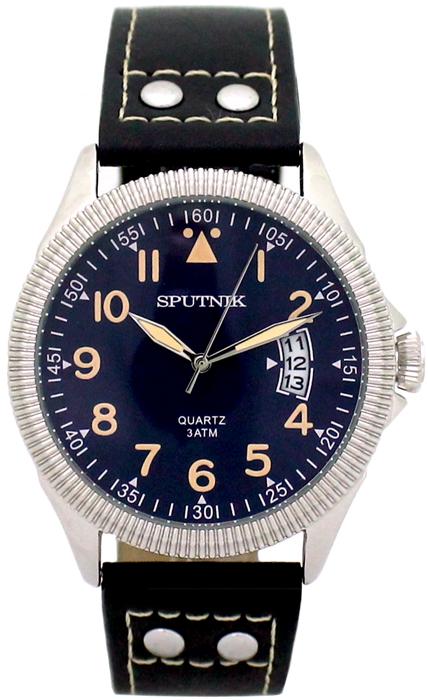 Наручные часы Спутник М-400630/1 (син.,беж.оф.)