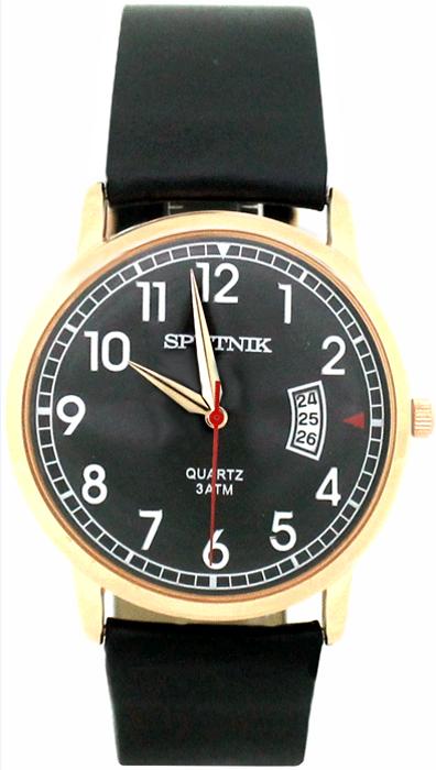 Наручные часы Спутник М-400660/8 (черн.)
