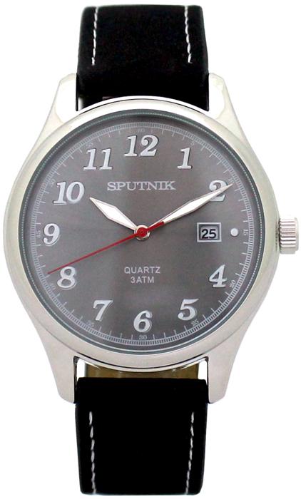 Наручные часы Спутник М-400700/1 (св.серый)