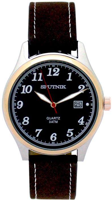 Наручные часы Спутник М-400700/6 (корич.)