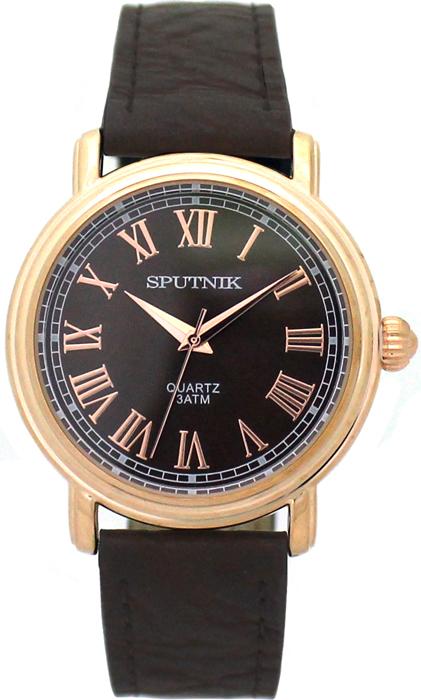 Наручные часы Спутник М-858041/8 (корич.)