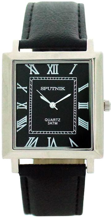 Мужские наручные часы Спутник М-857881/1 (черн.)