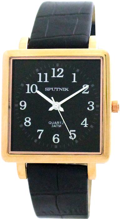 Мужские наручные часы Спутник М-857991/8 (черн.)