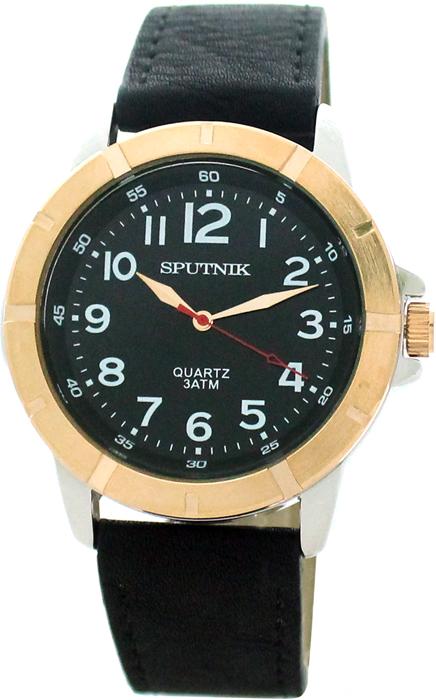 Мужские наручные часы Спутник М-858070/6 (черн.)