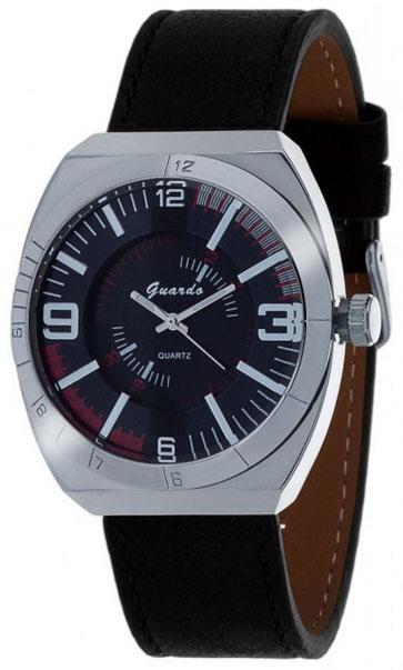 Наручные часы мужские Guardo 1353.1 чёрный