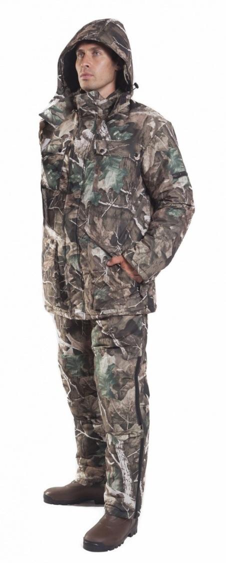 Костюм мужской Нерпа зимний, ткань микрофибра 100% пэ, цвет, камуфляж.ТАЙФ