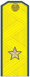 Погоны генерал-майор ФСБ на китель парадные метанит