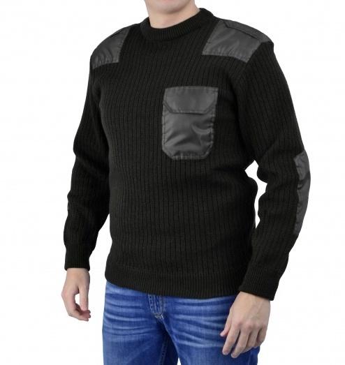 Джемпер п/ш форменный черный