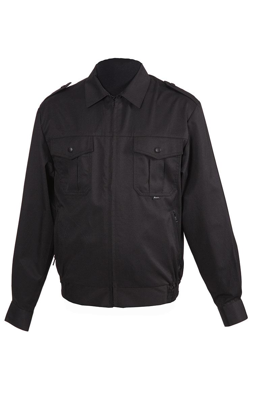 1208 б/п куртка для охраны глянцевая смесовая