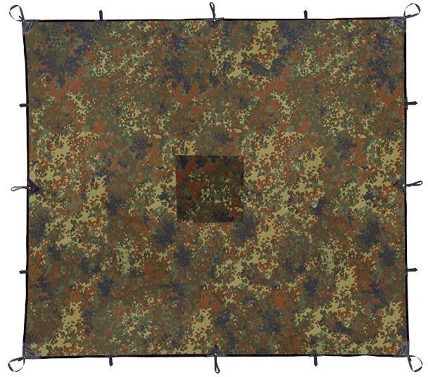 Тент Mark 1.72T 34 flecktarn, 3x4m, 7172.4321