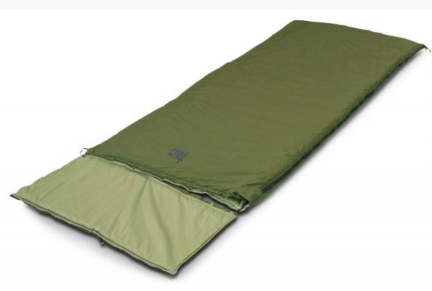 Мешок спальный MARK 23SB одеяло-пончо, olive, (185+35)x85, 720