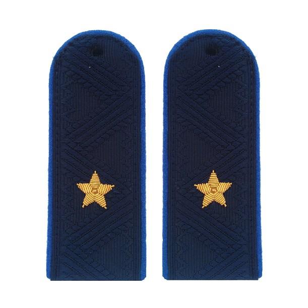 Погоны генерал-майор Юстиции с хлястиком повседневные