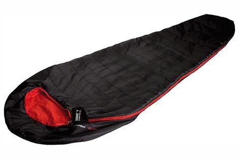 Мешок спальный Pak 600 черный/красный, 23303