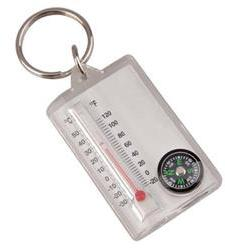 Брелок Компас с термометром (упак=10 шт), 3154