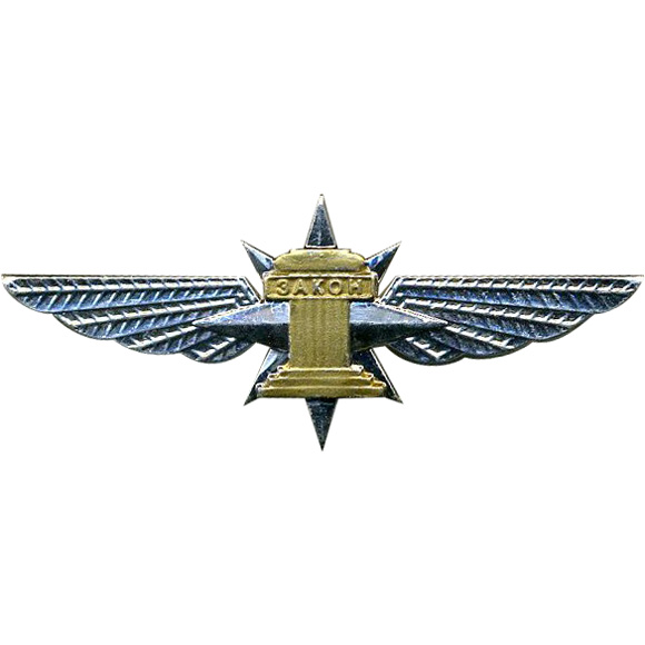 Нагрудный знак эмблема Ространснадзор металл