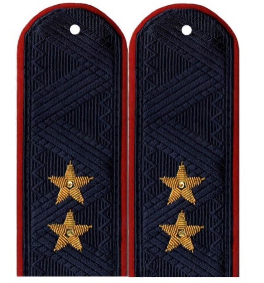 Погоны генерал-лейтенант Полиции на китель повседневные