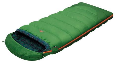 Мешок спальный SIBERIA зеленый правый