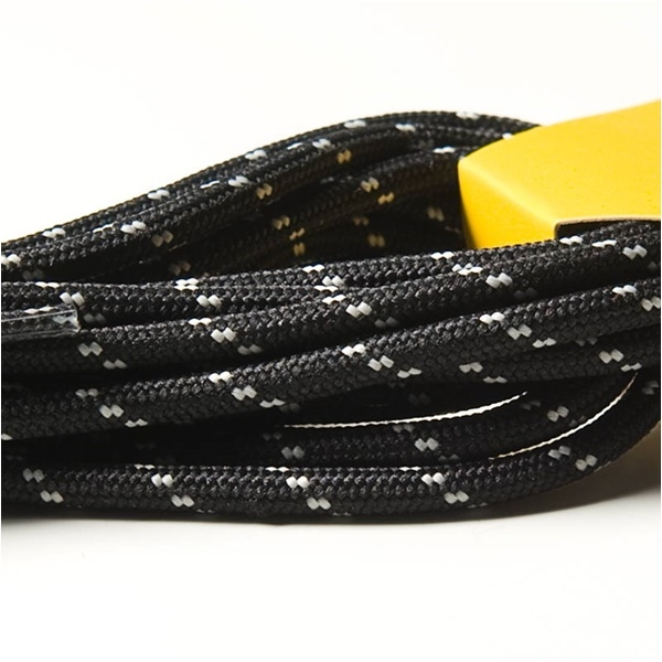 Шнурки TRANGO 170 12пар Black, 093BW - артикул: 660380214