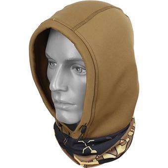 Бандана-капюшон Polartec Wind Pro коричневый/dance gold