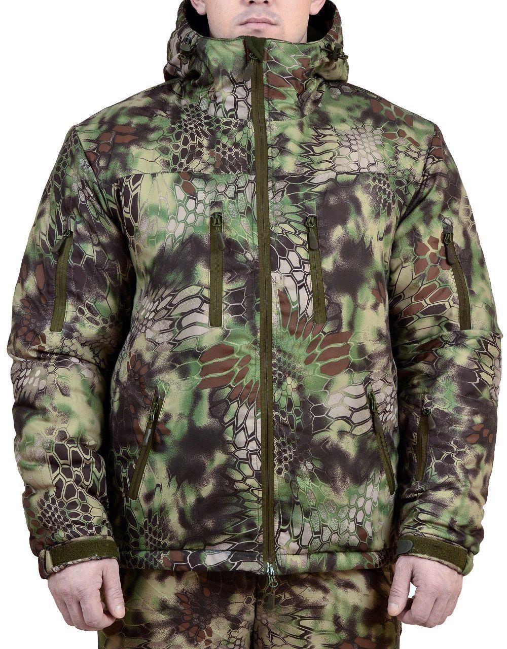 Куртка демисезонная МПА-47-01 (рип-стоп) питон лес